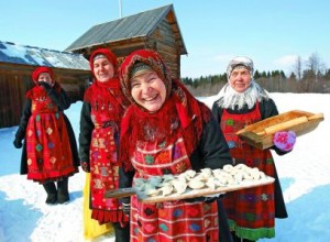 В деревне Бураново